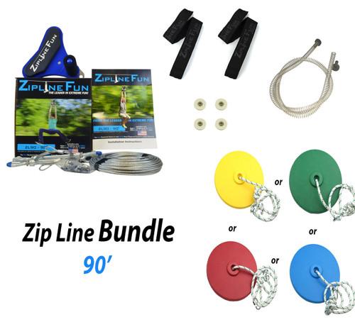 ZL-90 90' Zip Line Bundle