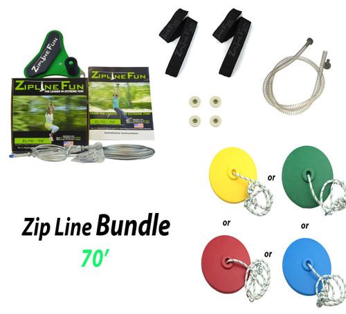 ZL-70 70' Zip Line Bundle