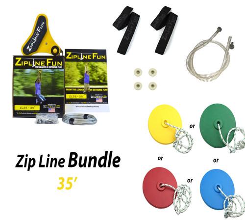 ZL-35 35' Zip Line Bundle
