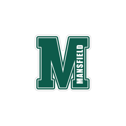 "Mansfield ""M"" Window Decal"