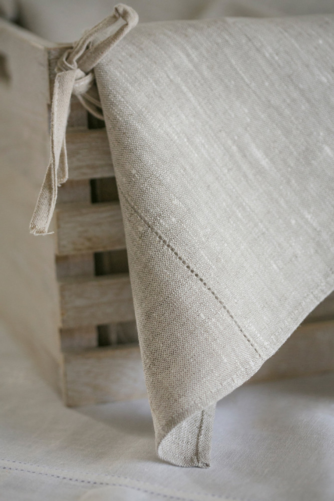 Flax Linen Bath Towel