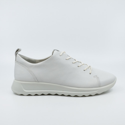 Ecco Flexure runner white