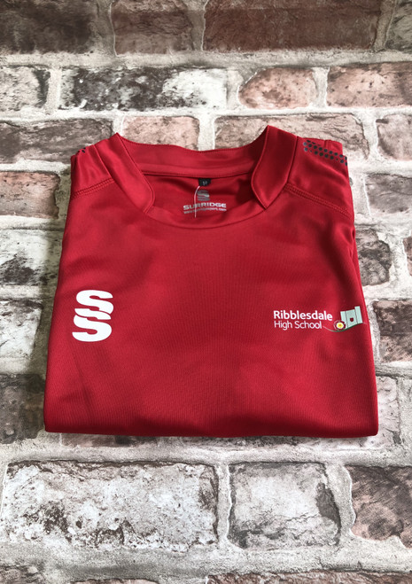 Ribblesdale Girls P.E. Top S/S