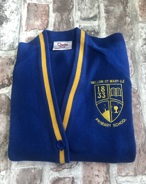 St. Marys`s Mellor Girls Knitted Cardigan