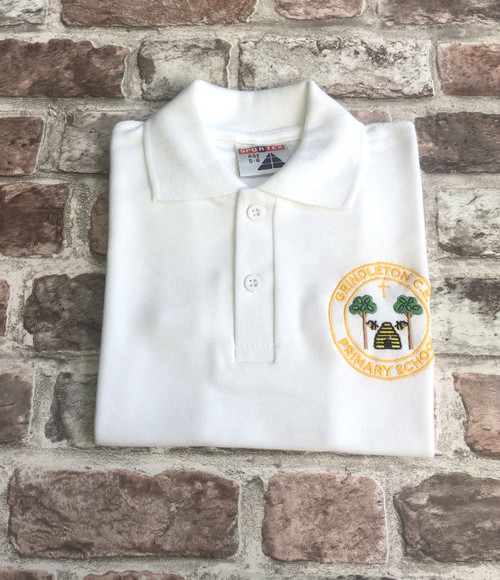 Grindleton White Poloshirt