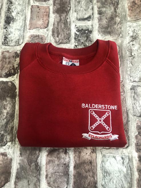 Balderstone St. Leonard's Red Sweatshirt