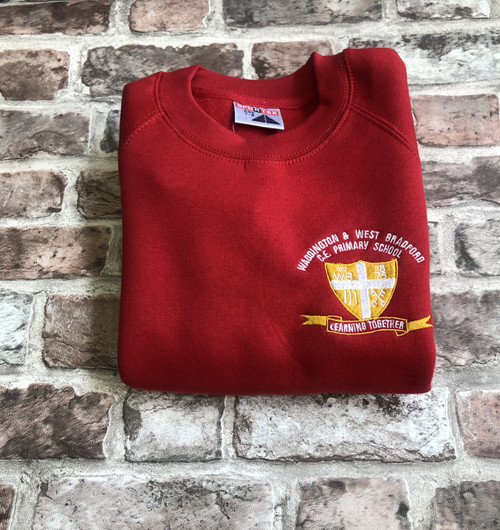 Waddington and West Bradford Red Sweatshirt