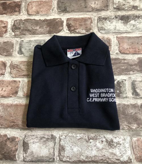 Waddington and West Bradford Navy Poloshirt