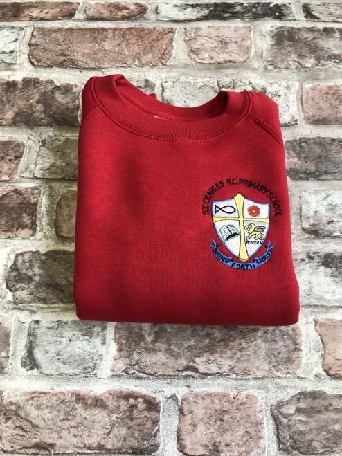 St. Charles Red Sweatshirt