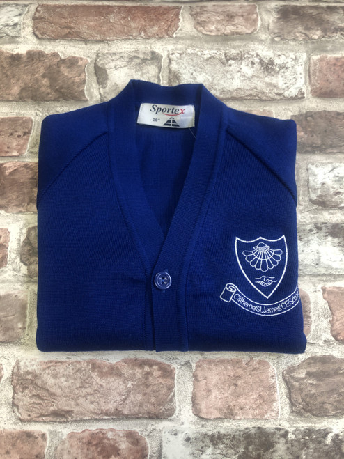 Clitheroe St. James Girls Knitted Cardigan