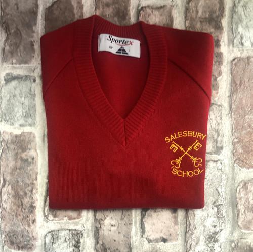 Salesbury V-neck Knitted Jumper