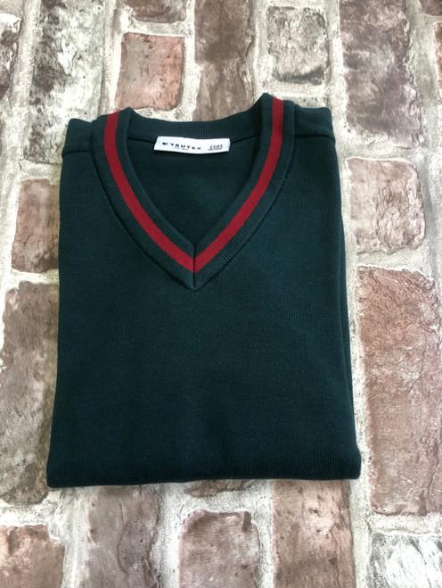 Moorland V-Neck Knitted Jumper