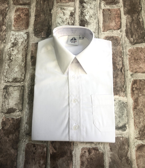 Boys Twin Pack White Shirts