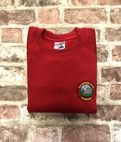 Chatburn Red Sweatshirt