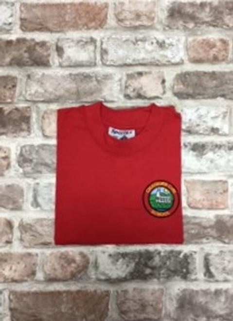Chatburn Red P.E. T Shirt