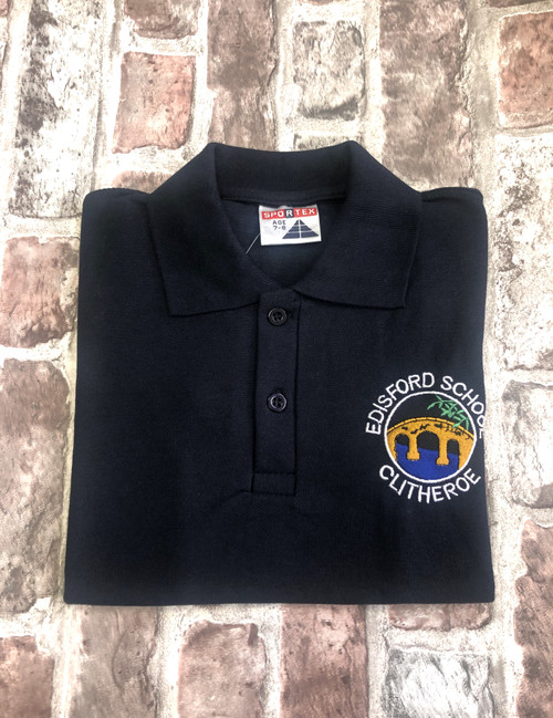 Edisford Navy Poloshirt