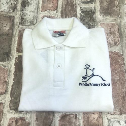 Pendle White Poloshirt