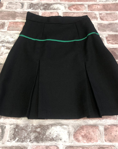 Bowland Girls Black Stitch Down Skirt