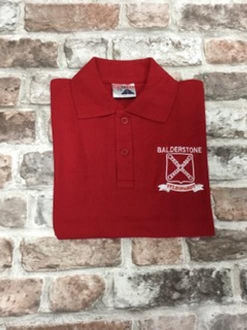 Balderstone St. Leonard's Red P.E. Poloshirt