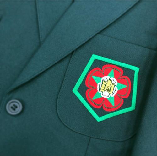 Ribblesdale Boys Green Blazer