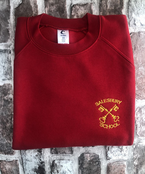 Salesbury Red Sweatshirt
