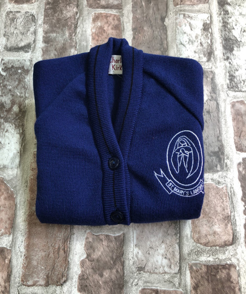 St. Mary`s Langho Girls Knitted Cardigan