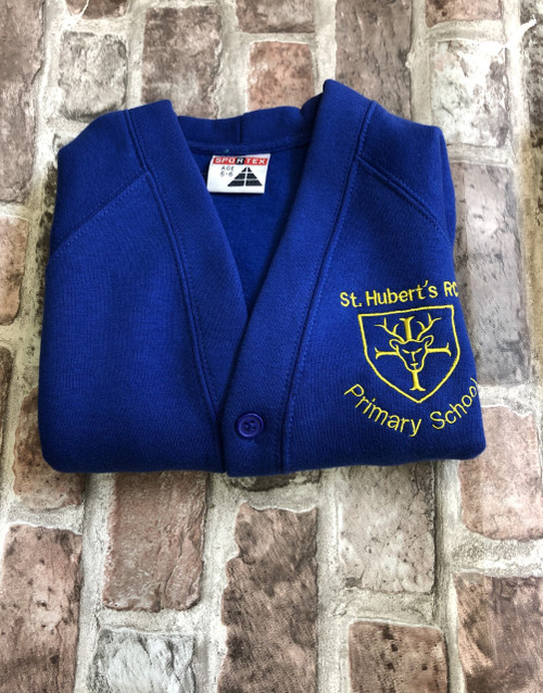 St. Hubert`s with St. Wulstans Girls Cardigan