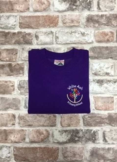 White Ash Boys Purple Sweatshirt
