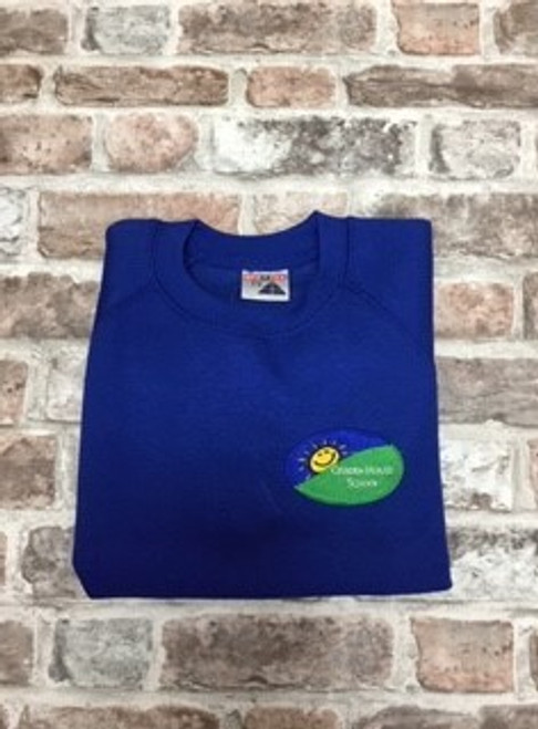 Boys Cribden House Blue Sweatshirt