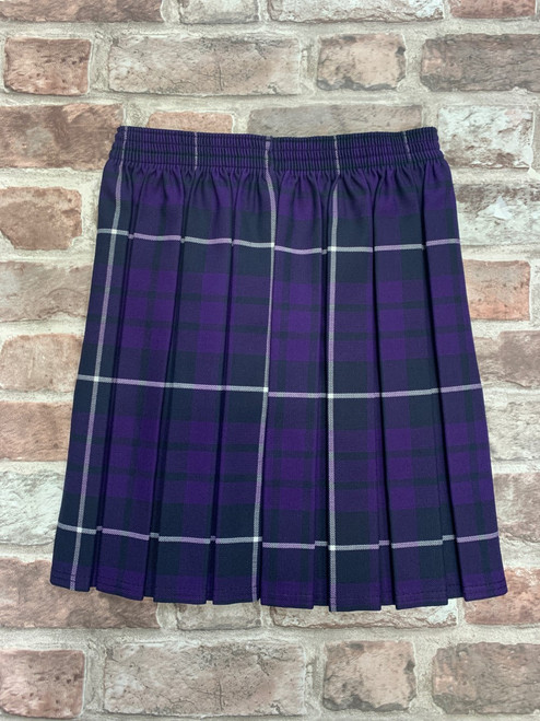 St. Mary's Magdalene Tartan Box Pleat Skirt