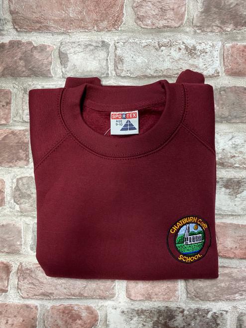 Chatburn Sweatshirt Maroon Year 6