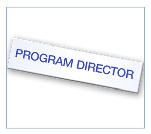 Program Director Tag
