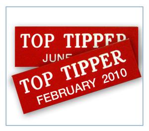 Top Tipper Badges (12 tags)