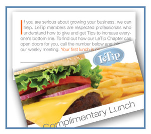 Guest Lunch Cards