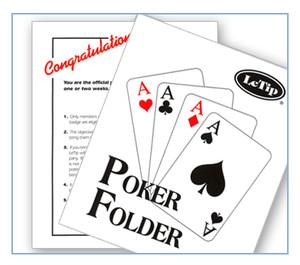 LeTip Poker Holder