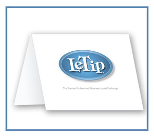 LeTip Blank Note Cards