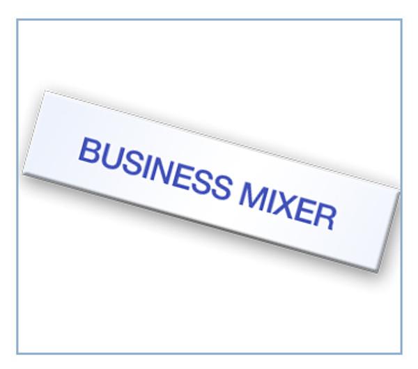 Business Mixer Tag