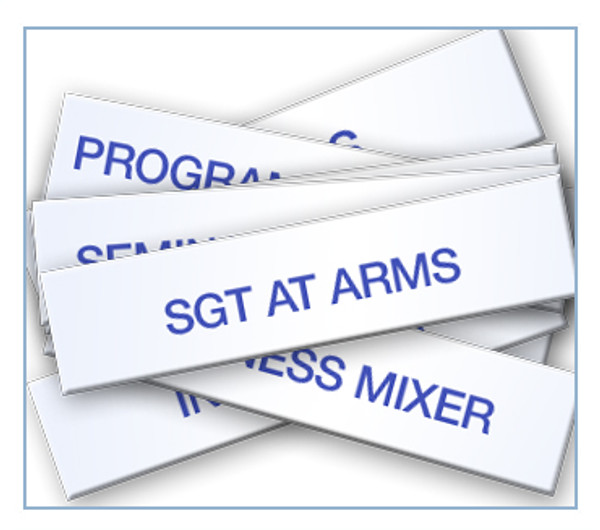 Committee Tag Set