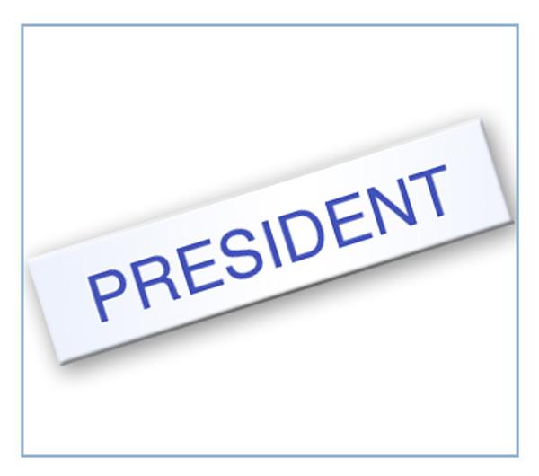 Board - President Tag