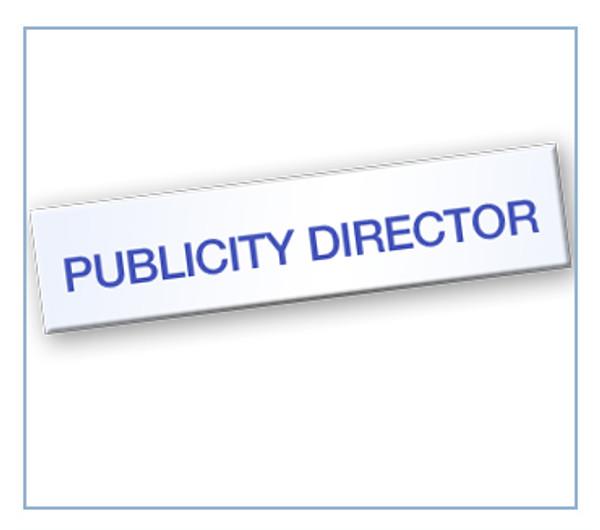 Publicity Director Tag