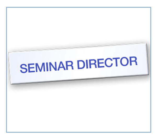 Seminar Director Tag