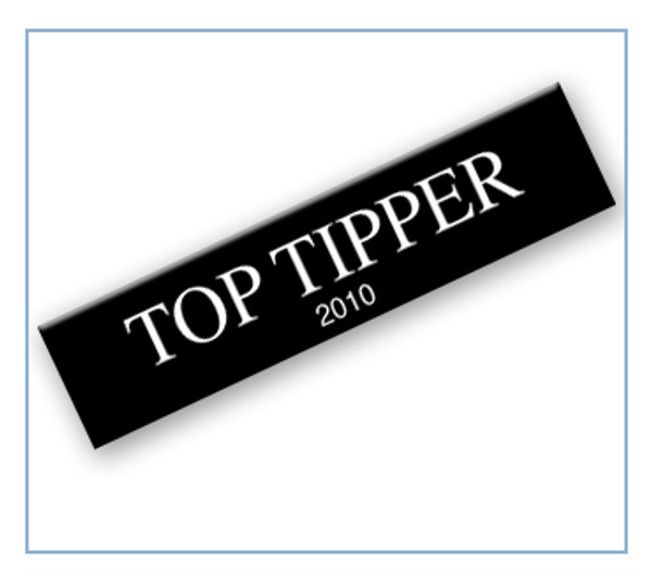 Top Tipper of the Year Badge