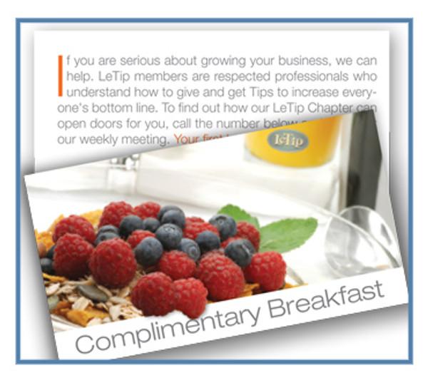 Guest Breakfast Cards