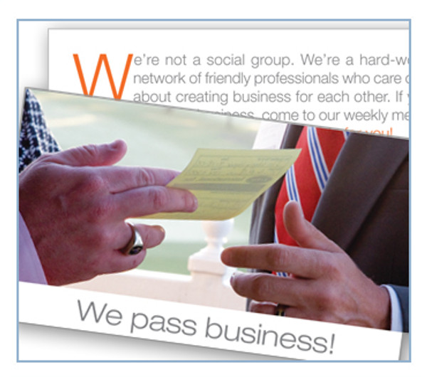 "Invite ""We Pass Business"""