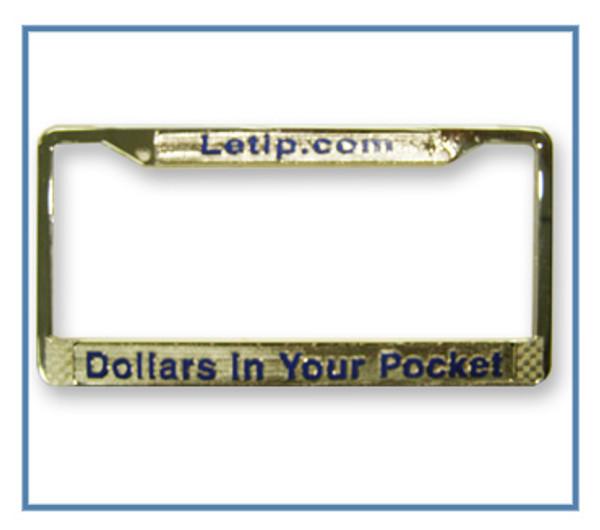 LeTip License Plate Frame