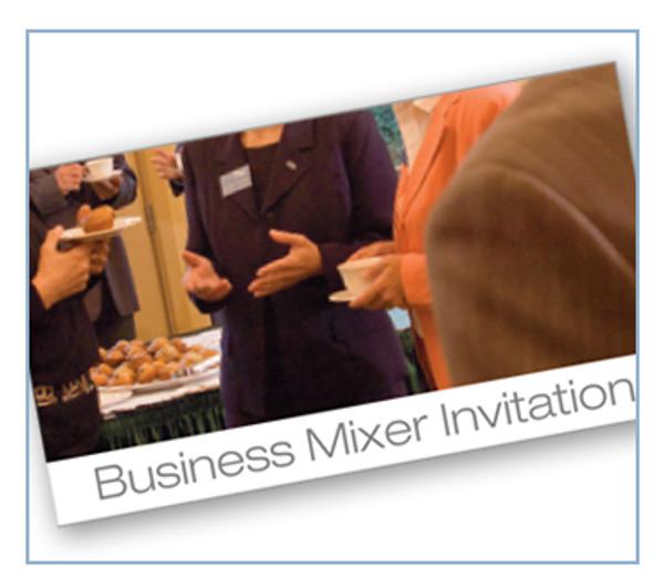"""Invite """"Business Mixer"""""""