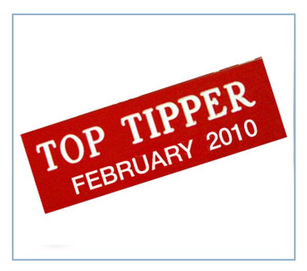 Top Tipper Badge (1 tag)
