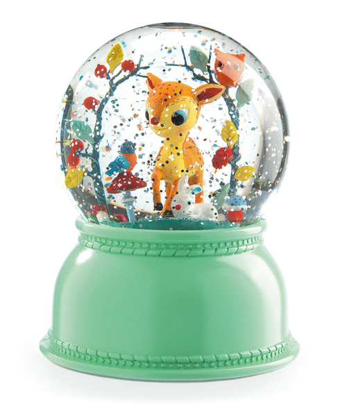 Snowglobe Night Light Fawn