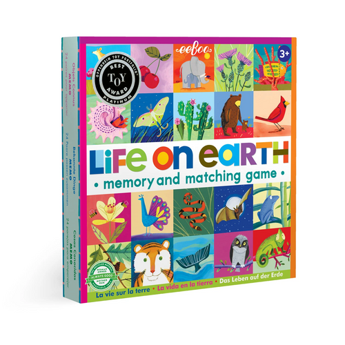 Life on Earth Memory Matching Game