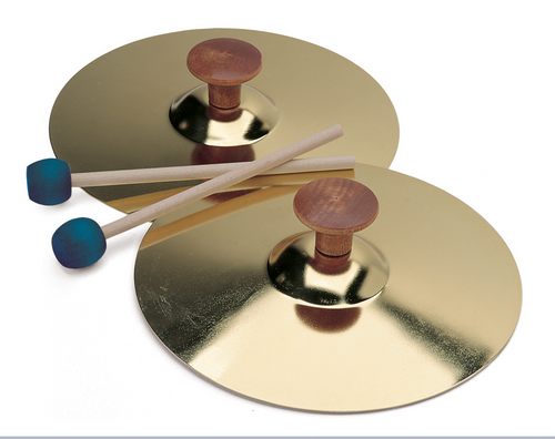 Cymbals with Mallet